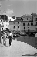 Salvador Dalí et Gala à Cadaqués, 1958
