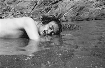 Salvador Dalí à Cap de Creus, 1958