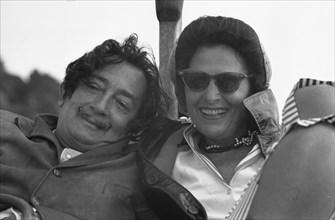 Salvador Dalí et Gala, 1959