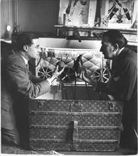 Face à face, Robert Descharnes et Salvador Dalí, Port Lligat, 1957