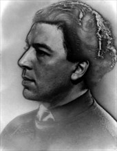 Portrait of André Breton in 1929. Photograph by Man Ray