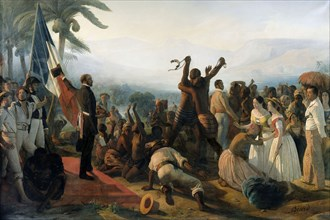 Biard, L'abolition de l'esclavage dans les colonies françaises en 1848