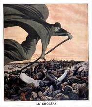 Epidémie de choléra en Turquie, 1912