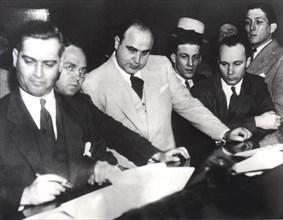 Inculpation d'Al Capone pour fraude fiscale