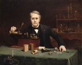 Thomas Edison par Abraham A. Anderson