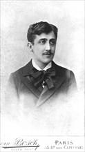 Marcel Proust, by Van Bosch