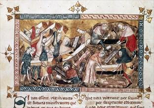 Annales de Gilles de Muisit, La peste à Tournai