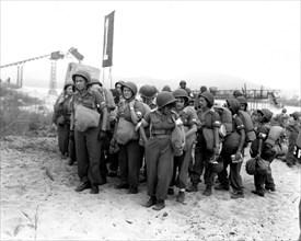 Débarquement dans le sud de la France. Saint-Tropez, 1944