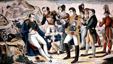 Image d'Epinal. L'été de Napoléon à Sainte-Hélène