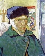 Van Gogh, Self-Portrait With a Bandaged Ear