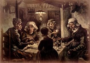 Van Gogh, The Potato Eaters