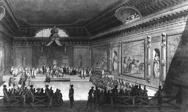 Assemblée de notables à Versailles