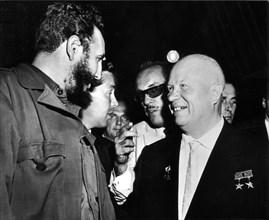 Rencontre entre Nikita Khrouchtchev et Fidel Castro, 1960