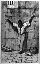 Esclave enchaîné, 1844