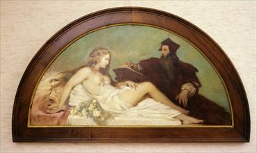 Hampel, Dante and Beatrice