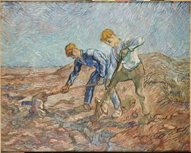Van Gogh, Two Peasants Digging