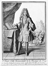 Bonnart, Portrait de Jean-Baptiste Lully