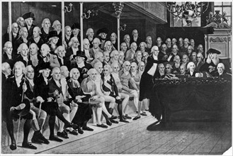 The House of Commons in London in 1793