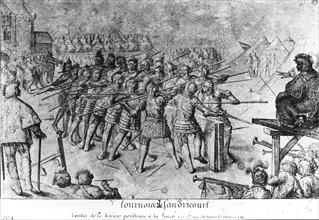 Bollery, Tournament of Sandricourt in 1493