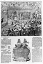 Festivities in honour of Queen Victoria, 1849