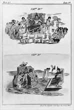 Duran, Scenes representing the Emperor