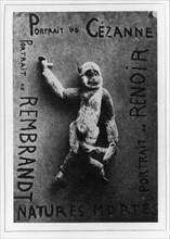 Picabia, Portrait of Cézanne, portrait of Renoir, Portrait of Rembrandt
