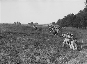 Military maneuvers in France, 1934