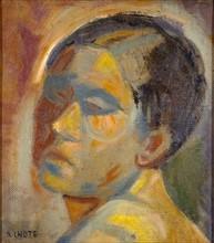 Lhote, Portrait of a woman