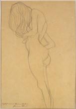 Klimt, Study of a female nude