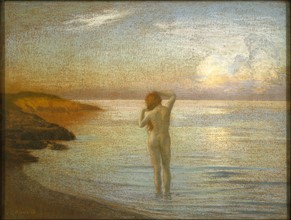 Ménard, Bather on the shore