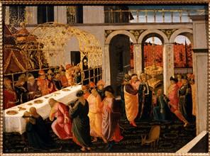 Del Sellaio,  Assuerus' Banquet