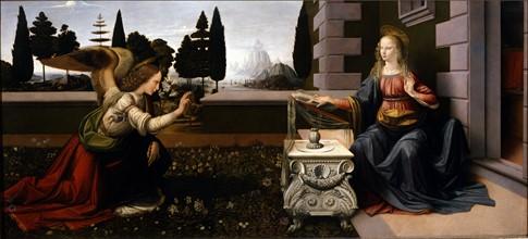 Da Vinci, The Annunciation
