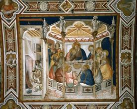 Lorenzetti, The Last Supper (La Cène)