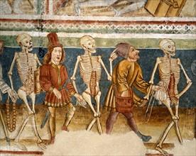 La Mort accompagnant le bourgeois et l'usurier