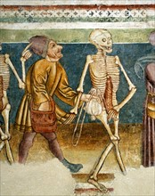 La Mort accompagnant l'usurier