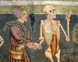 La Mort accompagnant le médecin