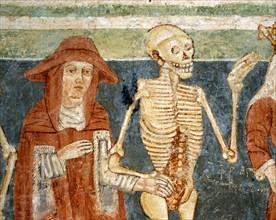 La Mort accompagnant le Cardinal