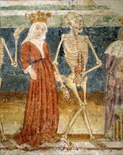 La Mort accompagnant la Reine