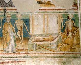 La Mort accompagnant le Pape