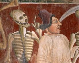 L'aubergiste accompagnés par la Mort