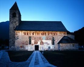 Eglise Saint-Vigile à Pinzolo (Italie)