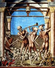 Kauw, La Danse des Morts (détail)