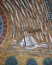 Basilica of Sant'Apollinare in Classe, Ravenna, Mosaic of the apse (detail)