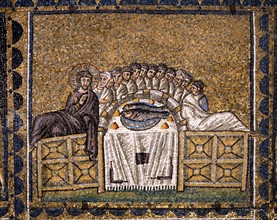 Basilica of Sant'Apollinare Nuovo, Ravenna : The Last Supper