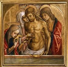 Vittore Crivelli, Lamentation on the body of Christ
