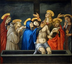 The Alunno, Lamentation on the Body of Christ