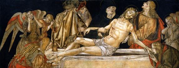 Bernardino di Mariotto, The Deposition of Christ
