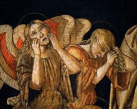 Bernardino di Mariotto, The Deposition of Christ (detail)