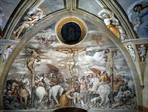 Il Romanino, The Crucifixion