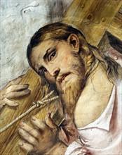 Il Romanino, Christ carrying the Cross